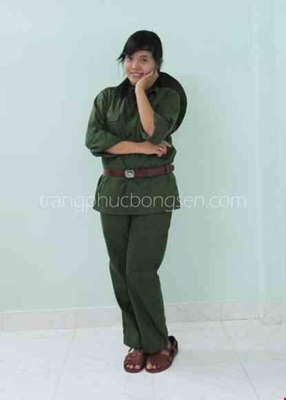 Cho thue Trang phục bộ đội lớn