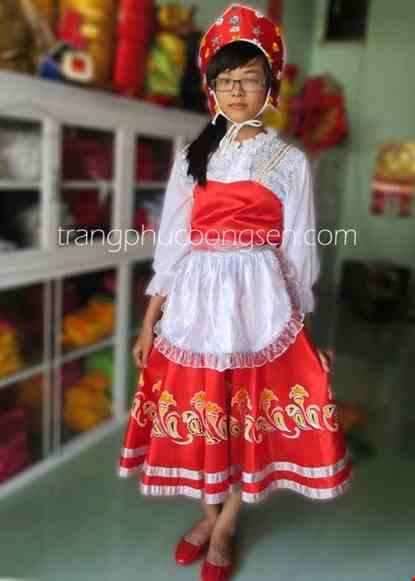 Cho thue Trang phục nước Nga