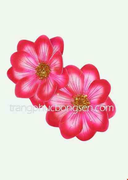 Cho thue Hoa xốp nhỏ màu đỏ