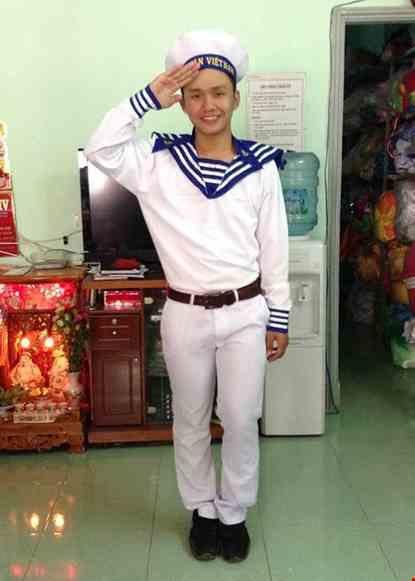 Cho thue Trang phục hải quân nam