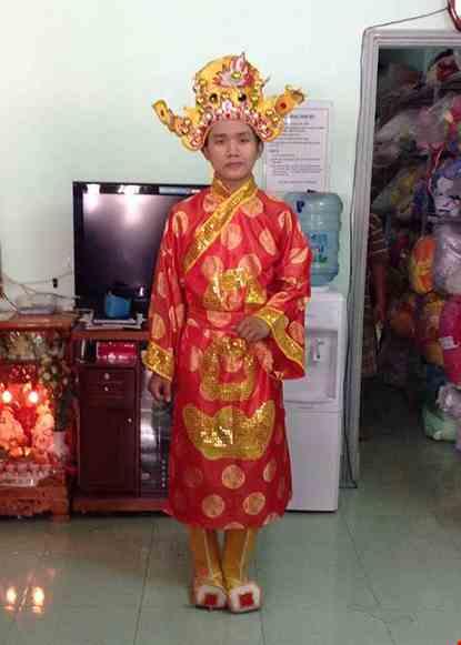 Cho thue Trang phục thần tài