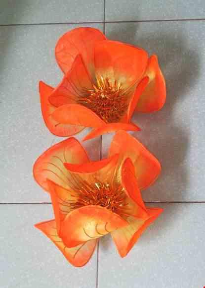 Cho thue Hoa múa cỡ nhỏ màu cam