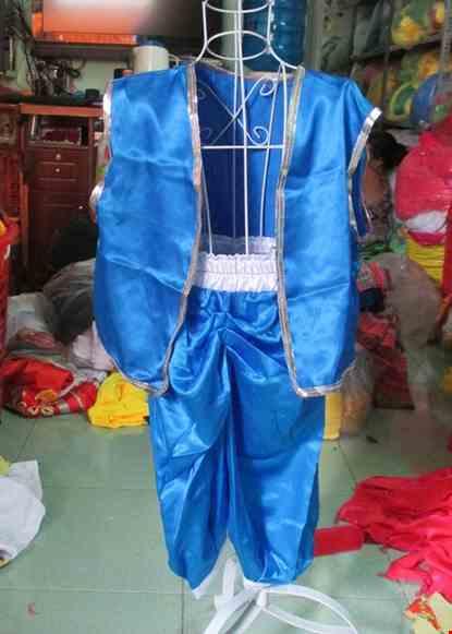 Cho thue Trang phục Alibaba trẻ em xanh