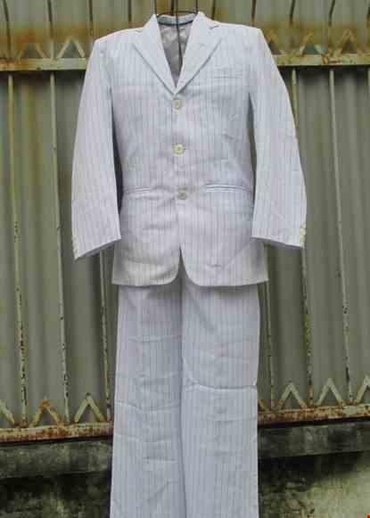 Cho thue Bộ áo vest nam sọc trắng