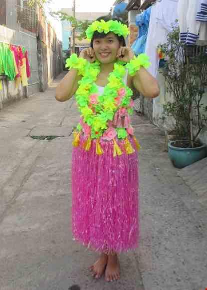 Cho thue Đồ múa Hawaii