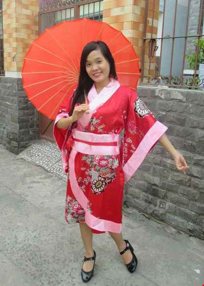 Trang phuc Kimono Nhat Ban