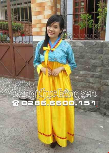 Trang phuc Hanbok Han Quoc
