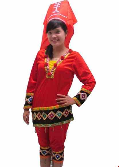 Trang phuc dan toc Dao