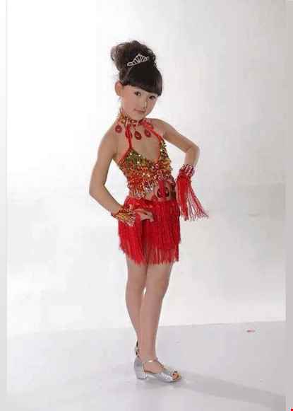 Trang phuc nhay tico tre em