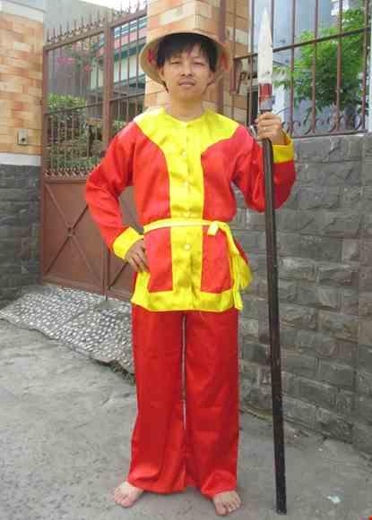Trang phuc linh Tay Son