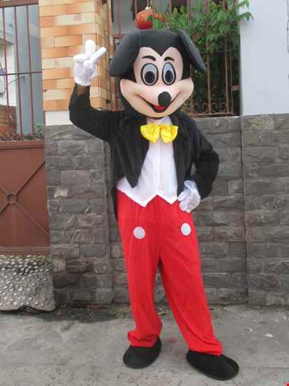 Mascot chuot Mickey