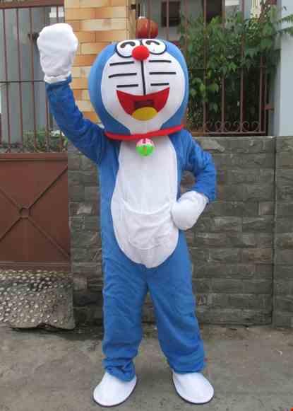 Mascot meo may thong minh Doremon
