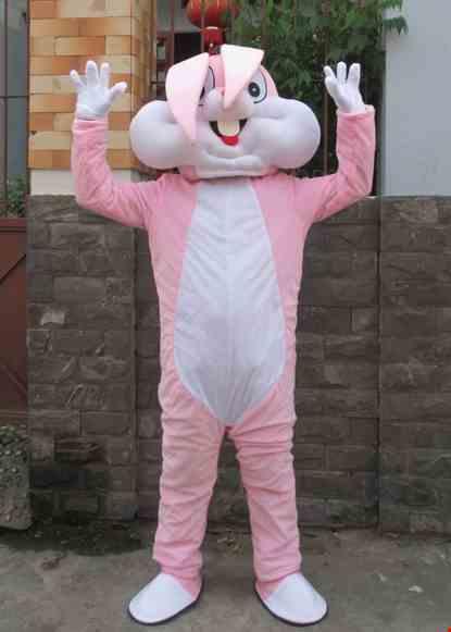 Mascot con thỏ