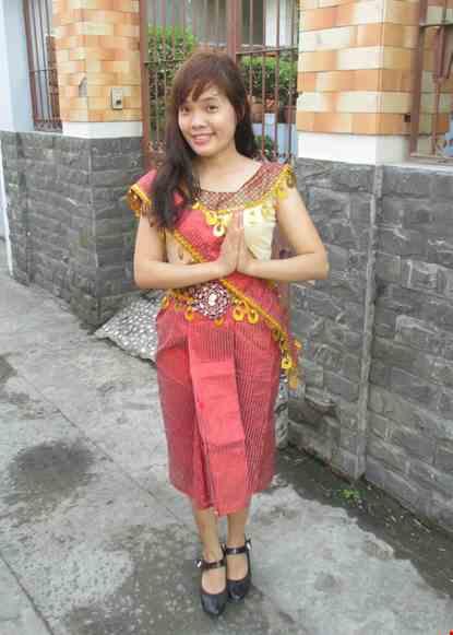 Trang phuc Sampot Campuchia