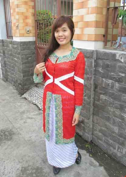 Trang phuc Kebaya Indonesia