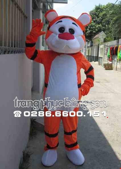 Mascot - Linh vat - con cop