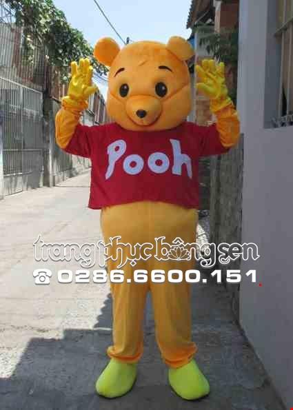 Mascot - Linh vat - Con gau Pooh
