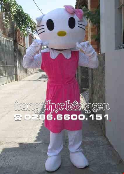 Mascot - Linh vat - Con meo Kitty