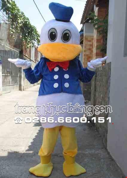 Mascot - Linh vat - Con vit Donal