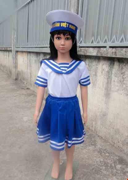 Cho thue Trang phục Hải quân nữ mầm non