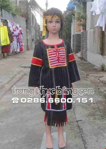 Cho thue Dân tộc Ê Đê (Tây Nguyên) nam mầm non sọc đen