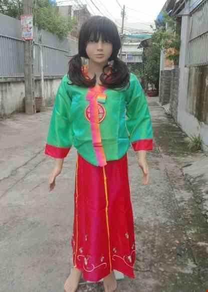 Cho thue Trang phục Hanbok trẻ em