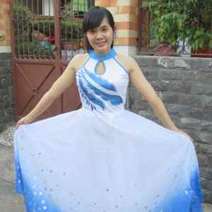 Hình ảnh cho thể loại Đầm múa dài