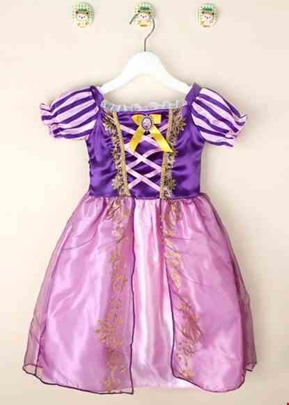 Cho thue Đầm công chúa trẻ em