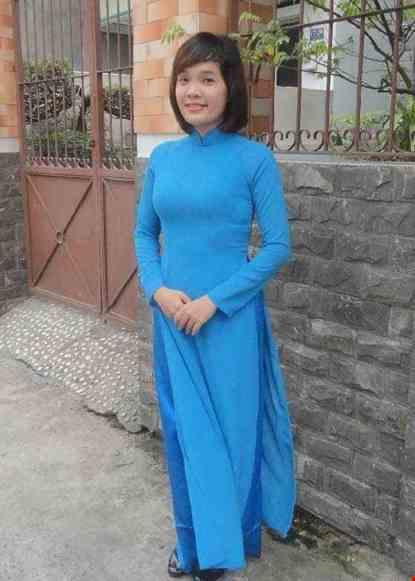 Áo dài nữ vải chiffon trơn