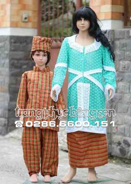 Cho thue Trang phục Indonesia trẻ em