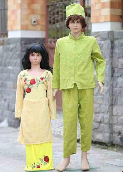Cho thue Trang phục Bruney trẻ em