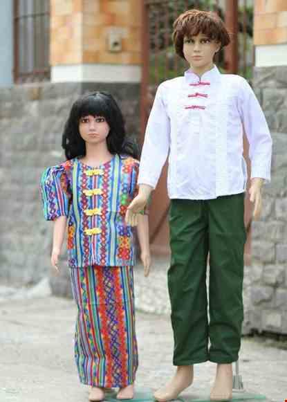 Cho thue Trang phục Philippines trẻ em