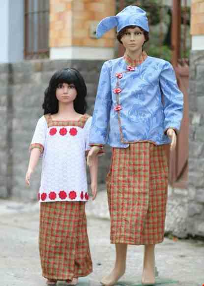Cho thue Trang phục Myanmar trẻ em