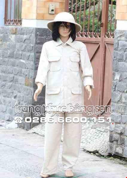 Cho thue Trang phục Bác Hồ trẻ em