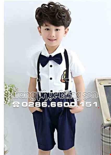 Cho thue Đồng phục múa - Áo quần trẻ em màu xanh