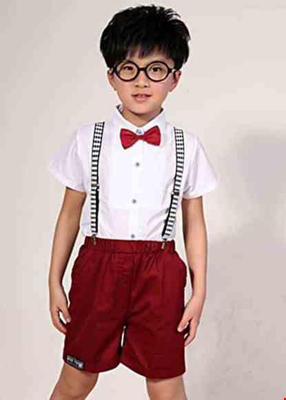Cho thue Đồng phục múa - Áo quần trẻ em màu đỏ