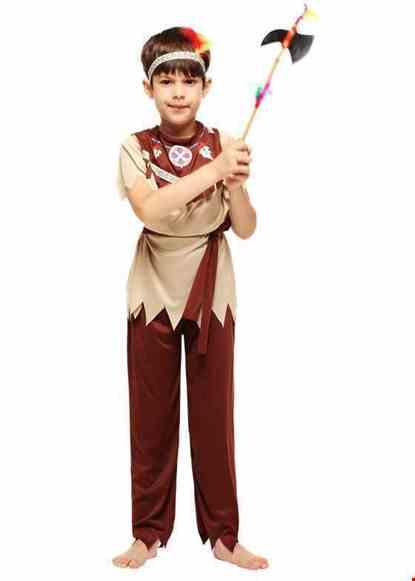 Cho thue Trang phục thổ dân trẻ em nam