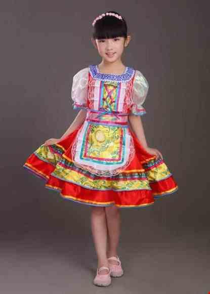 Cho thue Trang phục nước Nga trẻ em nữ