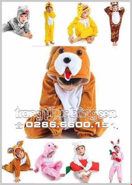 Trang phục hóa trang động vật mầm non