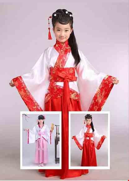 Trang phục Hằng Nga (chị Hằng) trẻ em