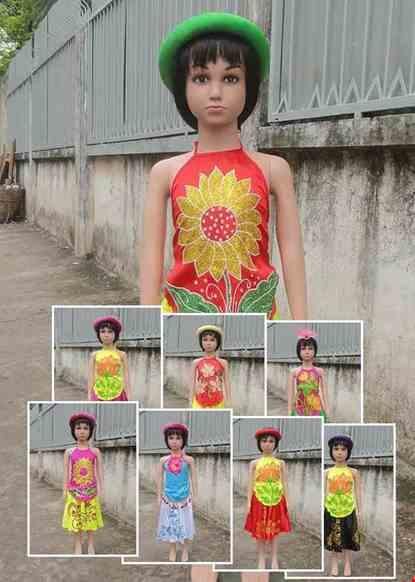 Trang phục yếm - váy trẻ em