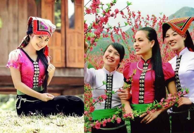 Điểm giống và khác nhau giữa trang phục dân tộc Thái Trắng và Thái Đen