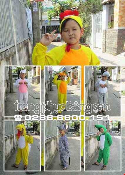 trang phục hóa trang động vật trẻ em